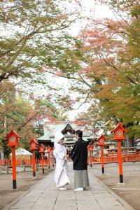 群馬県神社で挙げる結婚式
