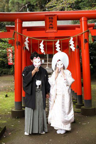 高崎市和婚進雄神社神前式