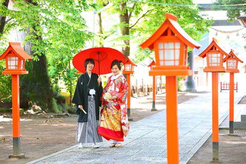 和婚神前結婚式前橋市総社神社