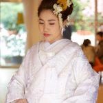 和婚群馬神前結婚式白無垢洋髪