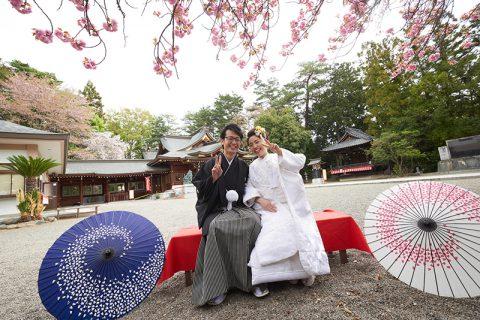 和婚群馬神前結婚式白無垢