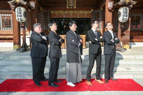 和婚群馬神前結婚式進雄神社