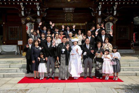 和婚群馬神前結婚式家族婚