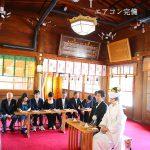 和婚群馬神前結婚式群馬県護国神社