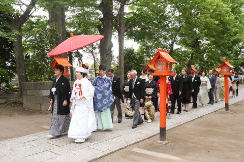 和婚群馬神前式上野総社神社結婚式