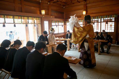 群馬県和婚神前式神社結婚式