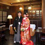 足利織姫神社和婚神前式