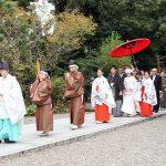 群馬高崎進雄神社婚神前式