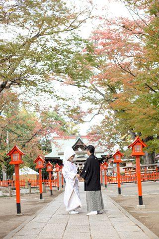 上野総社神社秋の神前結婚式