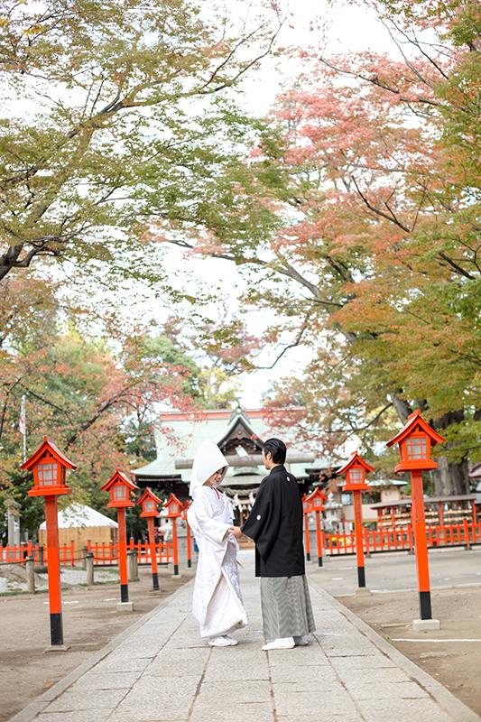 上野総社神社神前式