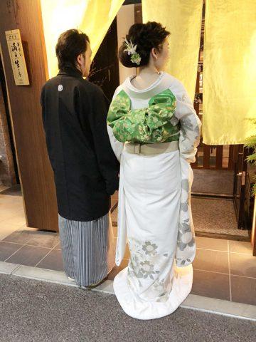 群馬花嫁和装コーデ