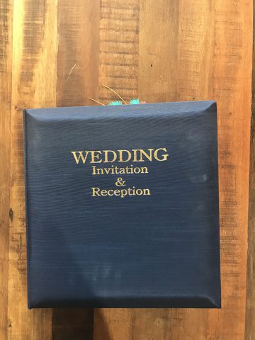 和婚招待状群馬神前結婚式