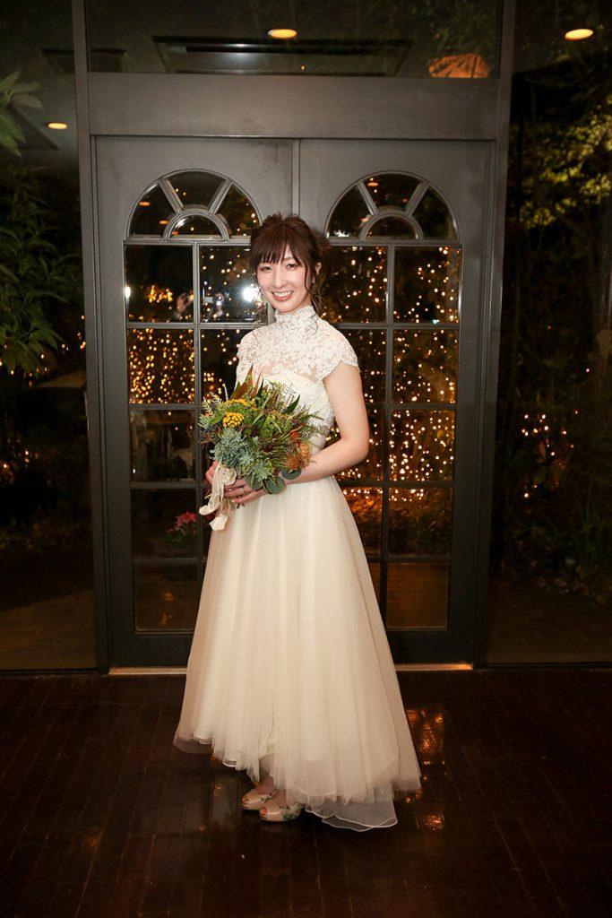 ウェディングドレス高崎花嫁さだわりコーデ