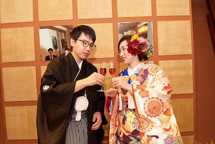 群馬県和婚神前式進WABIやまどり少人数パーティ