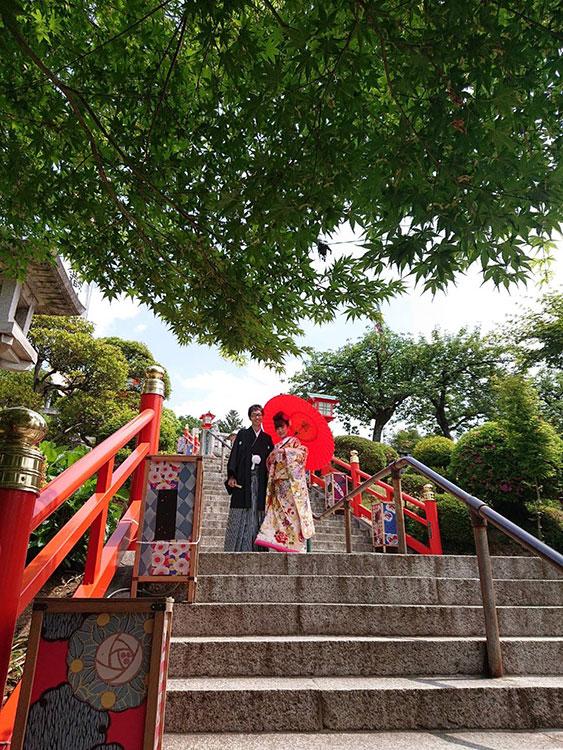 和婚足利織姫神社結婚式