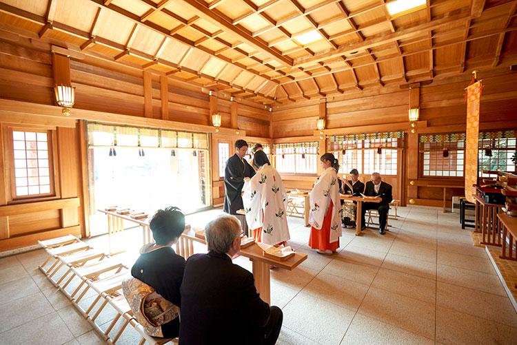 群馬和婚神前挙式だけ行う
