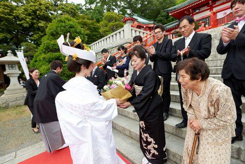 群馬和婚神前式家族少人数結婚式