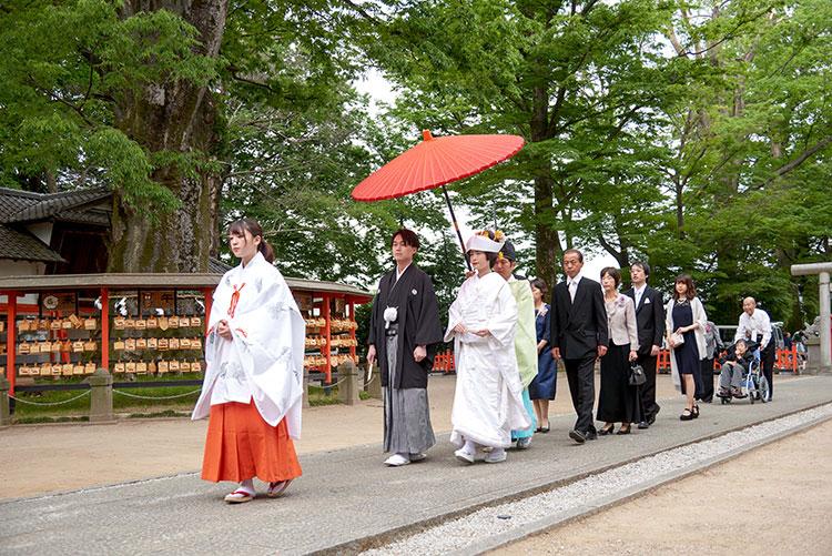 群馬和婚神前式上野総社神社