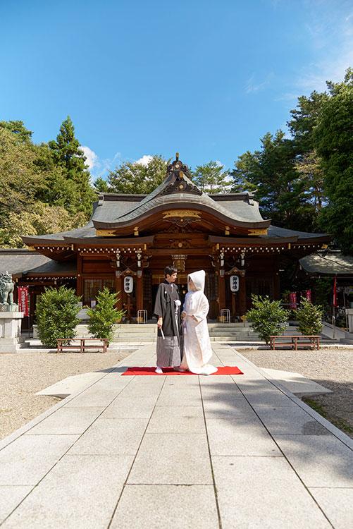 高崎市和婚神前式進雄神社