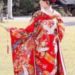 和装色打掛群馬県神社結婚式