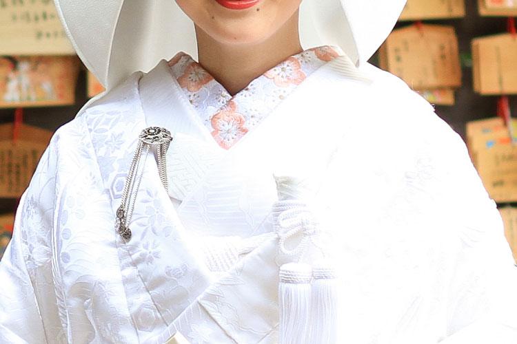 和装白無垢コーディネート襟