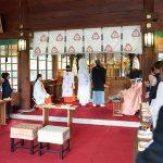 群馬県和婚神前式群馬縣護國神社