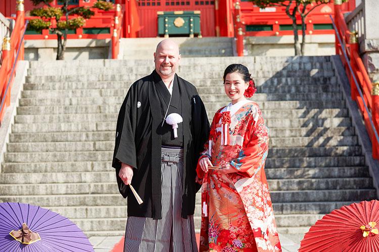 織姫神社結婚式