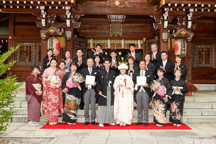 群馬県和婚神前結婚式