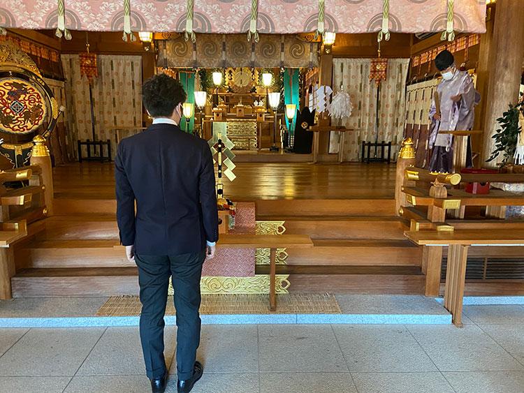群馬県高崎市和婚神前式