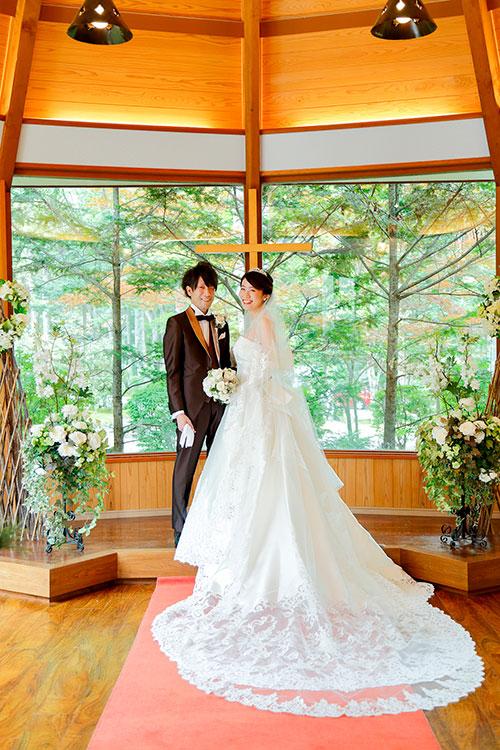 神社結婚式&少人数パーティ+軽井沢前撮りロケーションフォト