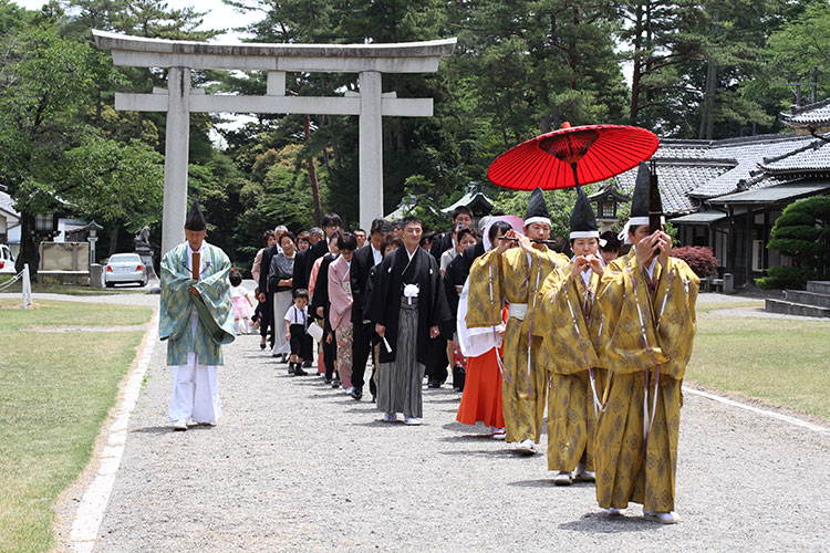 群馬縣護國神社和婚結婚式