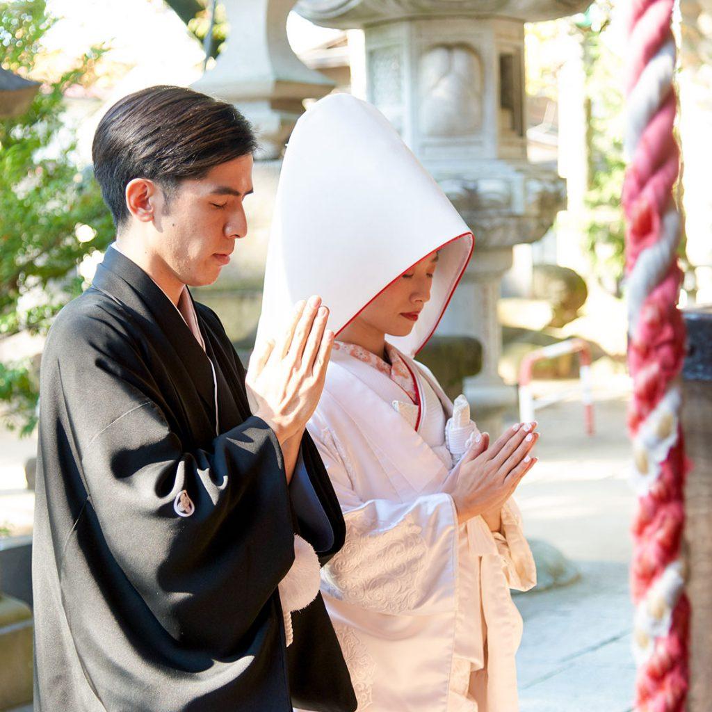 群馬県和装神前神社結婚式