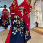 和装友禅神社結婚式群馬県