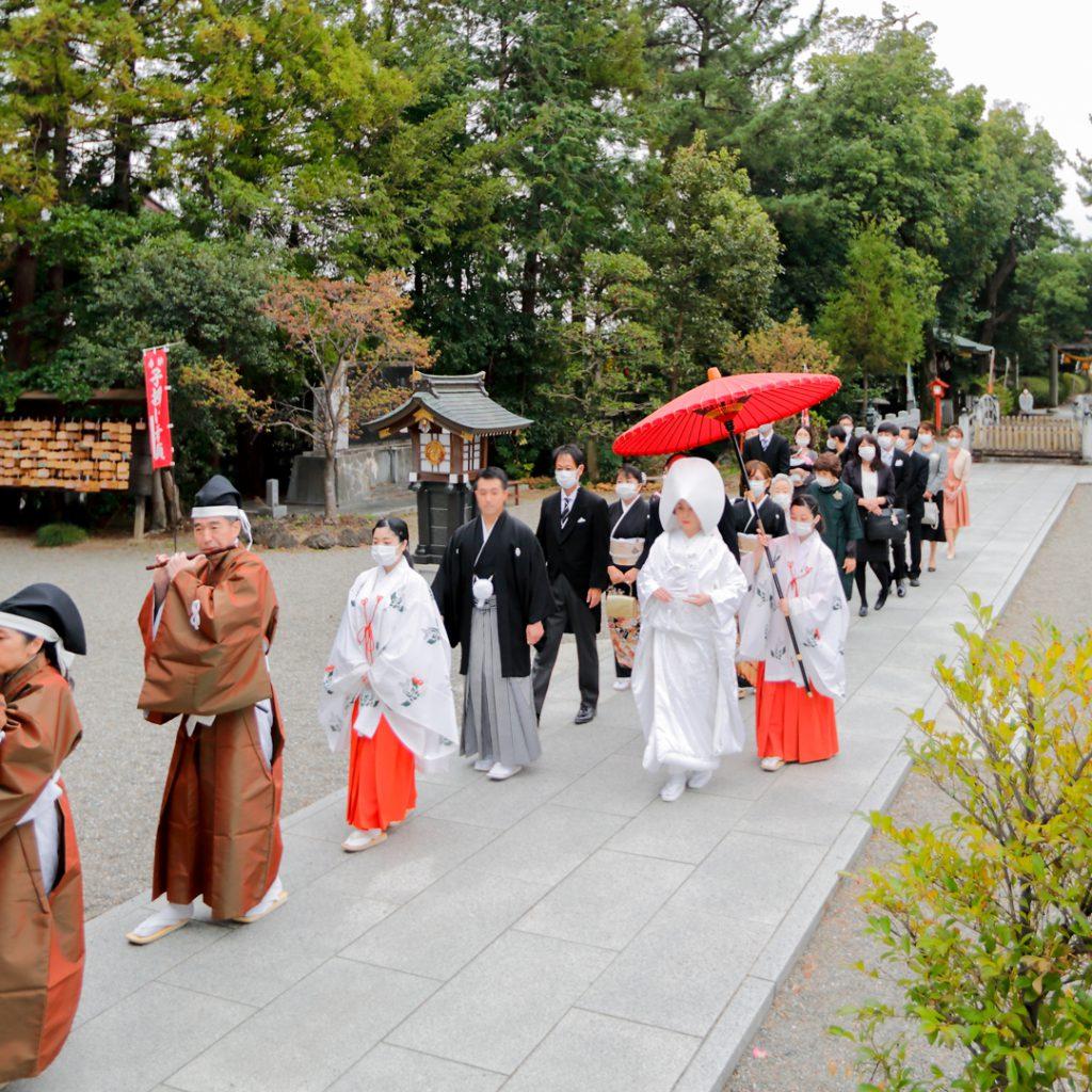 結婚式群馬県神社神前式